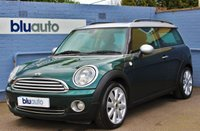 USED 2010 10 MINI CLUBMAN 1.6 COOPER 5d 118 BHP A superbly maintained example with Full Mini Service History in British Racing Green with Cruise Control, Part Leather Interior, DAB Radio and Chili Pack.