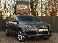 USED 2013 63 AUDI Q7 3.0 TDI QUATTRO S LINE 5dr AUTO 7 SEATS 1 Year Parts & Labour Warranty