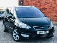 USED 2012 61 FORD GALAXY 2.0 TITANIUM X TDCI AUTO PANORAMIC ROOF LEATHER NAVIGATION