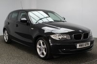 USED 2011 11 BMW 1 SERIES 2.0 118D SPORT 5DR 141 BHP FULL SERVICE HISTORY  SERVICE HISTORY + £30 12 MONTHS ROAD TAX + PARKING SENSOR + BLUETOOTH + CRUISE CONTROL + MULTI FUNCTION WHEEL + AIR CONDITIONING + RADIO/CD/AUX/USB + ELECTRIC WINDOWS + 17 INCH ALLOY WHEELS