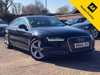 USED 2015 64 AUDI A7 3.0 SPORTBACK TDI ULTRA SE EXECUTIVE 5d AUTO 215 BHP Full Audi service history, Facelift model, Price includes VAT.
