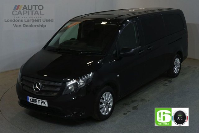 2018 18 MERCEDES-BENZ VITO 2.1 114 BLUETEC TOURER SELECT 136 BHP EXTRA LWB EURO 6 AIR CON 9 SEATER AIR CONDITIONING EURO 6