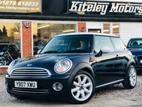 USED 2007 07 MINI HATCH COOPER 1.6 COOPER CHILI PACK & NAVIGATION