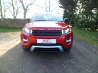 USED 2012 12 LAND ROVER RANGE ROVER EVOQUE 2.2 SD4 DYNAMIC 5d AUTO 190 BHP STUNNING EXAMPLE. SAT NAV. PAN ROOF. XENON LIGHTS. BLUETOOTH. EXCELLENT SERVICE HISTORY