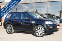 USED 2013 LAND ROVER FREELANDER 2.2 SD4 HSE LUXURY 5d AUTO 190 BHP PANORAMIC ROOF PANEL, AIR CONDITIONING, HEATED STEERING WHEEL, LOW MILES, LANDROVER HISTORY