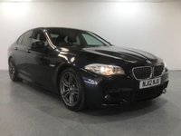 USED 2012 12 BMW 5 SERIES 2.0 525D M SPORT 4d AUTO 215 BHP FULL UP TO DATE BMW SERVICE HISTORY