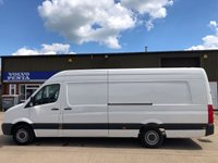 USED 2012 62 VOLKSWAGEN CRAFTER 2.0 CR35 TDI XLWB HIGH ROOF 136 BHP