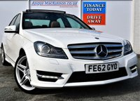 USED 2012 62 MERCEDES-BENZ C CLASS 3.0 C350 CDI BLUEEFFICIENCY AMG SPORT 4d Saloon AUTO with BRABUS POWERXTRA PERFORMANCE UPGRADE worth £2600 plus Highest Spec Car in the UK ***ONE OWNER FROM NEW***