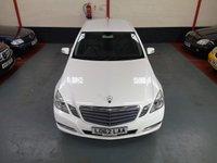 2013 MERCEDES-BENZ E CLASS 2.1 E220 CDI BLUEEFFICIENCY S/S SE 4d AUTO £8900.00