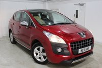 2011 PEUGEOT 3008 1.6 EXCLUSIVE HDI 5d 112 BHP £5995.00