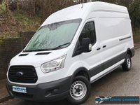 2016 FORD TRANSIT L3 H3 350 LWB HIGH ROOF 2.2 RWD 125BHP £12995.00