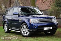 USED 2010 10 LAND ROVER RANGE ROVER SPORT 3.6 TDV8 HSE AUTO [272 BHP] 4X4