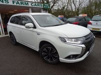 USED 2016 16 MITSUBISHI OUTLANDER 2.0 PHEV GX3H+ PLUS 4WORK PLUG-IN HYBRID COMMERCIAL VAN 4x4 3d AUTOMATIC 161 BHP FOUR WHEEL DRIVE Commercial Van! Factory Converted GX3H+ 4WORK! Full Service History (Mitsubishi + ourselves), One Owner, Minimum 6 months MOT, Automatic, Four Wheel Drive, New Shape, Plug-In Hybrid (PHEV), ZERO Road Tax! Manufacturer stated average mpg over 150! Balance of Mitsubishi Warranty until 2020 / 62,500 miles & Balance of Mitsubishi Battery Warranty until 2023 / 100,000 miles. 3-Pin UK Charger Included.