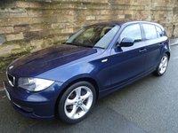 2009 BMW 1 SERIES 2.0 118D SPORT 5d 141 BHP £6490.00