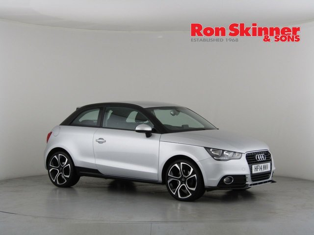 View our 2014 14 AUDI A1 1.4 TFSI CONTRAST EDITION PLUS 3d 122 BHP