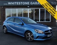 USED 2016 65 MERCEDES-BENZ A CLASS 1.6 A 180 SE 5d AUTO 121 BHP STUNNING LOW MILEAGE WITH FULL LEATHER AND SAT NAV