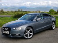 USED 2014 64 AUDI A5 2.0 SPORTBACK TDI SE TECHNIK 5d 174 BHP BUY NOW, PAY NOTHING FOR TWO MONTHS