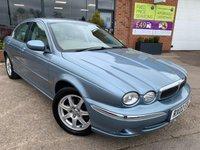 2002 JAGUAR X-TYPE 2.1 V6 SE 4d AUTO 157 BHP £2571.00