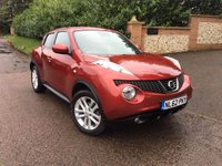 2012 NISSAN JUKE 1.6 ACENTA PREMIUM 5d 117 BHP PLEASE CALL TO VIEW £SOLD
