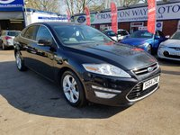 USED 2014 64 FORD MONDEO 2.0 TITANIUM X BUSINESS EDITION TDCI 5d 161 BHP