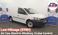 USED 2014 63 VOLKSWAGEN CADDY 1.6 C20 TDI STARTLINE BLUEMOTION, Low Mileage (51481) Mobile Workshop, Air Conditioning, Cruise Control, Electric Pack **Drive Away Today** Over The Phone Low Rate Finance Available, Just Call us on 01709 866668**