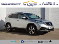 USED 2013 13 HONDA CR-V 2.2 I-DTEC EX 5d 148 BHP Full Service History Huge Spec Buy Now, Pay Later Finance!
