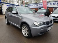 USED 2009 59 BMW X3 2.0 XDRIVE20D M SPORT 5d 175 BHP 0%  FINANCE AVAILABLE ON THIS CAR PLEASE CALL 01204 393 181