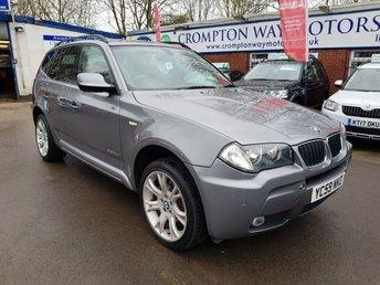 2009 BMW X3 2.0 XDRIVE20D M SPORT 5d 175 BHP £7595.00