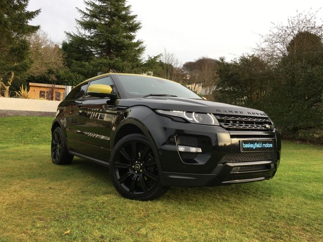 USED 2013 63 LAND ROVER RANGE ROVER EVOQUE 2.2 SD4 SPECIAL EDITION 3d 190 BHP
