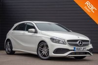 USED 2017 17 MERCEDES-BENZ A CLASS 1.6 A 160 AMG LINE 5d 102 BHP £0 DEPOSIT BUY NOW PAY LATER - NAVIGATION - REVERSE CAMERA