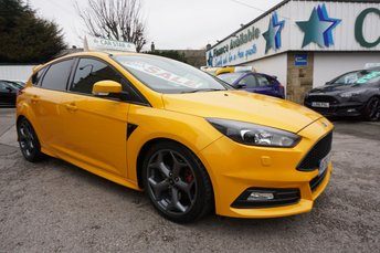 2015 FORD FOCUS 2.0 T ECOBOOST 250 BHP ST-3 5DR ( LEATHER & SAT NAV ) £16989.00
