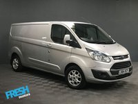 USED 2014 64 FORD TRANSIT CUSTOM 2.2 290 LIMITED L2H1 * 0% Deposit Finance Available