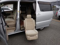 USED 2007 TOYOTA ALPHARD 2.4 litre SILVER WITH 4 WHEEL DRIVE