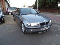 2004 BMW 3 SERIES 2.0 318D ES 4d 114 BHP £SOLD