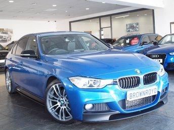 2013 BMW 3 SERIES  330D M SPORT 4d AUTO 255 BHP £15990.00