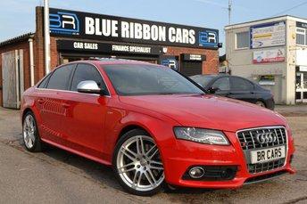 2009 AUDI S4 3.0 S4 QUATTRO 4d AUTO 329 BHP £15490.00