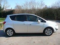 2011 VAUXHALL MERIVA 1.4 SE 5d 138 BHP £3995.00