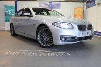 2014 BMW 5 SERIES 3.0 535D LUXURY 4d AUTO 309 BHP £13390.00