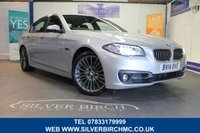 USED 2014 14 BMW 5 SERIES 3.0 535D LUXURY 4d AUTO 309 BHP Low Deposit Finance Available