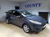 USED 2014 14 FORD FIESTA 1.2 ZETEC 3d 81 BHP * TWO OWNERS * FULL HISTORY *