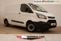 USED 2016 16 FORD TRANSIT CUSTOM 2.2 290 P/V 100 BHP L2 H1 (LWB READY TO GO) * BLUETOOTH * READY TO DRIVE AWAY TODAY * NO ADMIN FEES *