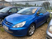 USED 2004 04 PEUGEOT 307 2.0 COUPE CABRIOLET 2d 135 BHP part exchange to clear electric roof we are open 7 days a week 01536 402161