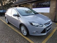 USED 2012 12 FORD FOCUS 1.6 ZETEC 5d 124 BHP * FULL SERVICE HISTORY WITH 6 STAMPS * DAB RADIO * PARKING SENSORS * BLUETOOTH *