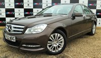 USED 2012 62 MERCEDES-BENZ C-CLASS 2.1 C220 CDI BLUEEFFICIENCY EXECUTIVE SE 4d AUTO 168 BHP