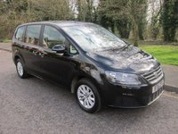 USED 2016 16 SEAT ALHAMBRA 2.0 TDI S 5d AUTO 150 BHP, EURO 6 Very Nice Low Mileage Euro6 Automatic Seat Alhambra with Air Conditioning, Seven Seats, Alloy Wheels and Service History