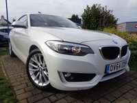 USED 2014 64 BMW 2 SERIES 2.0 218D SE 2d 141 BHP **1 Owner £30 Road Tax Full BMW Service History 7 Services 12 Months Mot**