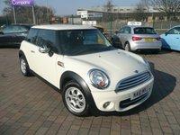 2011 MINI HATCH COOPER 1.6 COOPER D 3d 112 BHP £5199.00