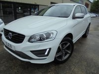 USED 2015 VOLVO XC60 2.0 D4 R-DESIGN LUX 5d 188 BHP Brilliant Premium SUV, Excellent Condition, No Deposit Finance Available, Part Exchange Welcomed