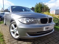USED 2011 11 BMW 1 SERIES 2.0 116I SPORT 5d 121 BHP **Great Spec Full Service History 8 Services 12 Months Mot**