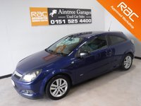 USED 2008 08 VAUXHALL ASTRA 1.4 SXI 3d 90 BHP